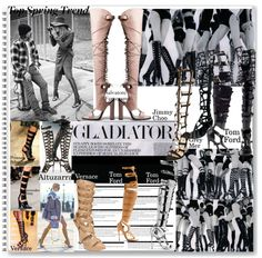Channel your inner gladiator #shoes #gladiator #fierce #style