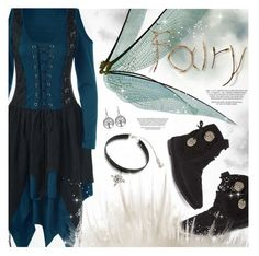 """Halloween Party-Fairy Costume"" by pokadoll ❤ liked on Polyvore featuring Minnetonka"