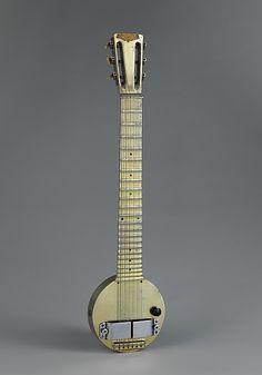 "Rickenbacker International Corporation | ""Frying Pan"" (Lap Steel Electric Guitar) | American | The Met"
