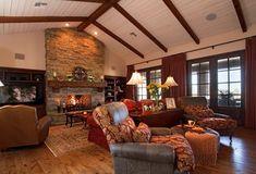 Rustic Family Room - Rustic - Family Room - phoenix - by Ernesto Garcia Interior Design, LLC