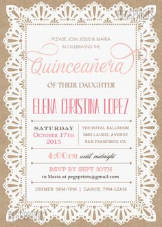Express Yourself Through Your Quinceanera Invitations