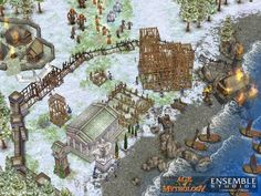Screenshot from Age of Mythology Age Of Mythology, Good Old, Videogames, City Photo, Nerd, Painting, Ancient Greece, Games, Video Games