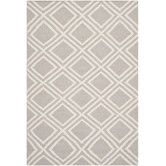 Rugs for the 2nd Bedroom Found it at Wayfair - Dhurries Grey / Ivory Moroccan Area Rug