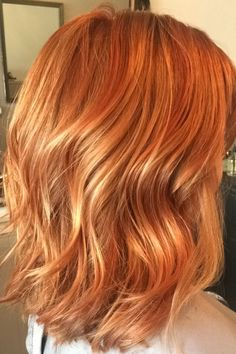 hair Ginger color henna blonde