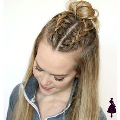 These easy hairstyles for school truly are fab. These easy hairstyles for school truly are fab. Pretty Hairstyles, Straight Hairstyles, Hairstyle Ideas, Natural Hairstyles, Hairstyles Haircuts, Hairstyles Pictures, Short Haircuts, Athletic Hairstyles, Latest Hairstyles