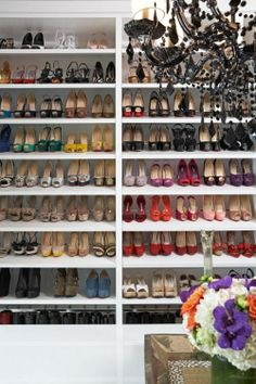 I want a closet like this!  All stocked up!!