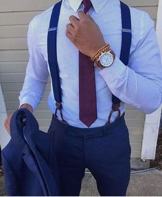 navy suit with burgundy tie Mens Fashion Suits, Mens Suits, Fashion Menswear, Dapper Suits, Burgundy Tie, Casual Outfits, Fashion Outfits, Fashion Ideas, Classy Outfits