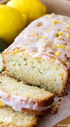 Homemade Lemon Zucchini Bread is sweet, moist, and slightly tangy thanks to the homemade lemon glaze on top! This easy zucchini bread recipe has a lemon bread twist to it, making it the perfect quick bread for spring and summer! It just might be your newest summer dessert obsession!  Pin this recipe for later! Apparently thecontinue reading ...