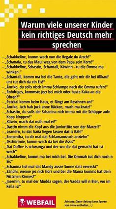 Deutsche Sprache schwere Sprache