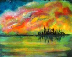 Seascape Painting Fine art print