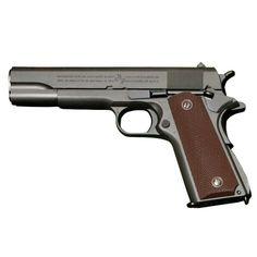Pistol Airsoft M1911A1 KJW Full Metal