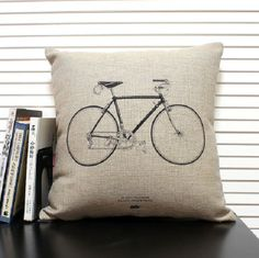 home accessories bicycle cushion cover by i love pillow