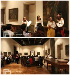 Origo - Medieval Female Ensemble at Lamego Museum concert. http://www.origoensemble.com