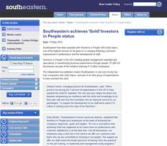 Southeastern achieves Gold Investors in People status