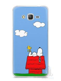 Capa Samsung Gran Prime Snoopy #3 - SmartCases - Acessórios para celulares e tablets :)