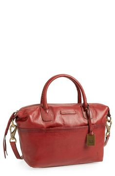 Frye 'Jenny' Satchel at Nordstrom.com. Finely grained leather accentuates the clean, minimalist styling of a spacious satchel fashioned with Frye's signature quality and attention to detail. Pantone Color of the Year 2015 Marsala