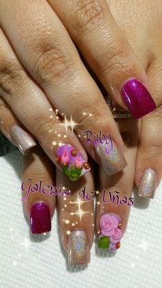 Elegant nails. My work