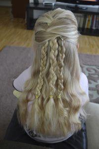 Easy summer hair