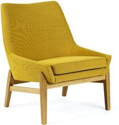 Scandinavian Grace - Teve Lounge Chair by Jonas Ihreborn Unique Furniture, Furniture Design, Snug Room, Wood Arm Chair, Mid Century Modern Decor, Lounge, Furniture Arrangement, Cool Chairs, Furniture Inspiration