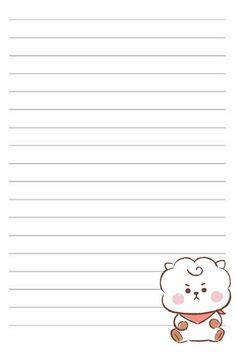 Printable Scrapbook Paper, Printable Paper, Cute Notes, Instagram Frame, Bts Book, Bts Drawings, Jolie Photo, Bts Chibi, Cute Cartoon Wallpapers