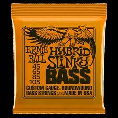 3d91a3f68b6fd Details about Ernie Ball Hybrid Slinky Bass Guitar Strings roundwound  nickel 45-105 gauge