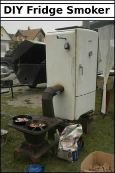 Give Your Old Fridge New Life by Turning it Into a Smoker!