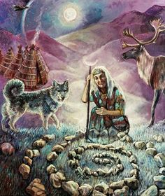 "Shaman Woman ""Sacred circles and sisterhoods have honored and continue to honor the Sacred Feminine Divine for over 2 million years and continue today Native American Wisdom, Native American Indians, Shaman Woman, Sacred Feminine, Divine Feminine, Medicine Wheel, Native Art, Gods And Goddesses, Nativity"