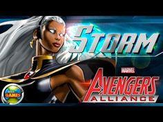 Tempestade Marvel Avengers Alliance Todos os Ataques