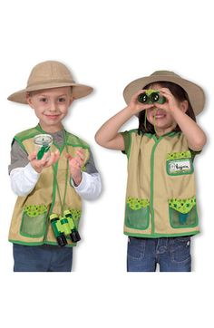 Melissa & Doug 'Backyard Explorer' Costume (Toddler) available at #Nordstrom
