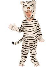 Deluxe White Tiger Kids Costume