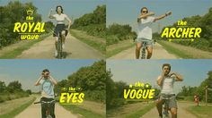 50 No-Handed Bike Moves // http://vimeo.com/ninian/goldentree