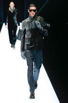 Emporio Armani | Menswear - Autumn 2018 | Look 35