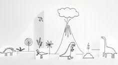 Made by Joel » Dinosaur Music Video Paper City