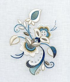 Marvelous Crewel Embroidery Long Short Soft Shading In Colors Ideas. Enchanting Crewel Embroidery Long Short Soft Shading In Colors Ideas. Bordado Jacobean, Crewel Embroidery Kits, Hardanger Embroidery, Learn Embroidery, Hand Embroidery Patterns, Machine Embroidery Designs, Embroidery Thread, Embroidery Supplies, Beginner Embroidery