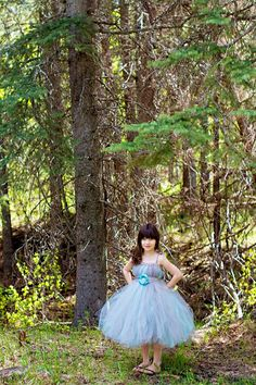 grey and aqua tutu dress with handmade flower by victoriastutus Handmade Flowers, Aqua, Flower Girl Dresses, Ballet Skirt, Trending Outfits, Wedding Dresses, Grey, Places, Vintage