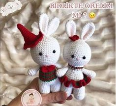 Hello this cute bunny is asking for a lot of recipes, I have .- Bonjour ce mignon lapin demande beaucoup de recette, j& cette recette … Hello this cute bunny asks a lot of recipe, I have this recipe … - Xmas Crafts, Easter Crafts, Fun Crafts, Easter Bunny Crochet Pattern, Crochet Doll Pattern, Amigurumi Toys, Amigurumi Patterns, Baby Knitting Patterns, Baby Patterns