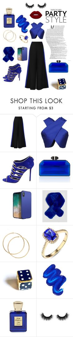 """Untitled #123"" by aboshanablama ❤ liked on Polyvore featuring beauty, Roksanda, Carven, Sergio Rossi, Judith Leiber, Mermaid Salon, Bella Bellissima, Artémes, Beauty and pretty"