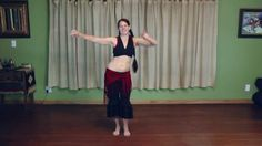 Tribal Belly Dance Lessons - Circle Step