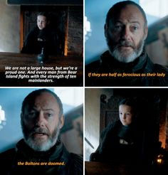 "And what about how she basically wouldn't listen to anyone but Davos, who saw her true power? | For Everyone Who Has A New Fave ""Game Of Thrones"" Character"