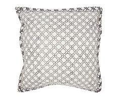 Cojín artesanal de algodón indio Moroccan - 50x50 cm