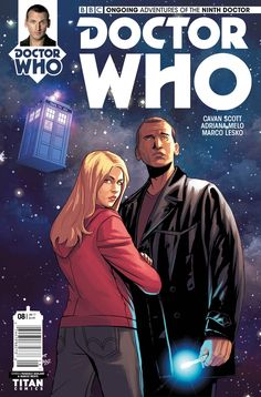 Doctor Who: The Ninth Doctor (Cover Artist: Marcio Menyz & Pasquale Qualano) Release Date: Doctor Who Rose, Doctor Who Comics, Black Cat Comics, Ninth Doctor, English Channel, Christopher Eccleston, Free Books Online, Dr Who, Sci Fi