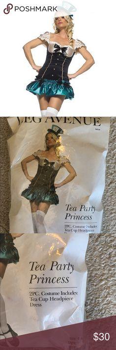 Tea Party Princess Leg Avenue Halloween Costume! NWTS NEVER WORN! Leg Avenue Dresses