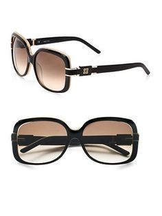 Givenchy Square Resin Sunglasses