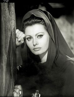 """Sophia in """"Falll of the Roman Empire"""" She also starred in El Cid (1961) ~ The film is a favorite of Martin Scorsese, who called it """"one of the greatest epic films ever made."""" Scorsese was one of the major forces behind the 1993 restoration and re-release."""