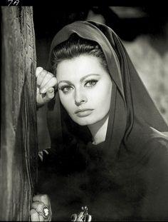 Sophia Loren in 'El Cid', 1961.