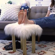 Budget-Friendly Fur Stool