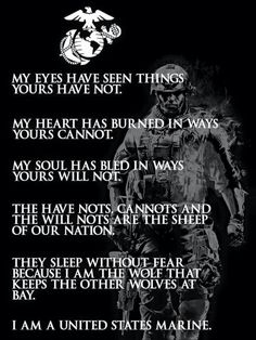 Yes, I am a United States Marine. After Boot Camp graduation in our son served 7 overseas combat tours within his first 8 years of service to Afghanistan, Iraq & Qatar. He currently serves as Airframes Division Officer, MAW. Marine Corps Quotes, Usmc Quotes, Military Quotes, Us Marine Corps, Military Love, Military Humor, Marine Corps Tattoos, Marine Recon, Marine Corps Humor