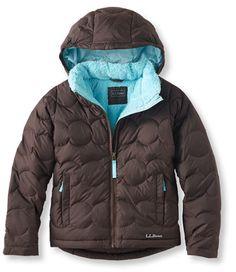 4973c2b7716 Girls  Bean s Fleece-Lined Down Jacket  Girls  Lined Apparel
