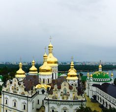 Kiev, Ukraine, Kiev, Ukraine — by Fe Dimmangna. The Kiev Pechersk Lavra Monastery Complex is a significant sacred and historical site and is a UNESCO World Heritage...