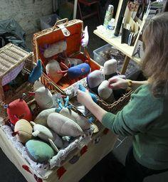 MARKET Praha (Process SLASTIDOLLS ) Softies, Straw Bag, Dolls, Creative, Bags, Baby Dolls, Handbags, Puppet, Doll